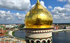 Выполненные работы по изготовлению куполов и храмов